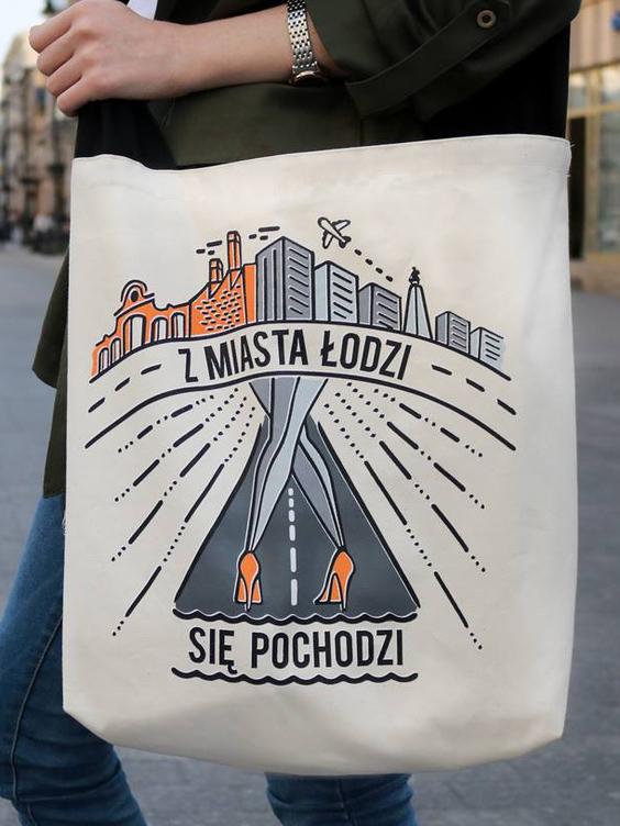Torba z miasta Łodzi