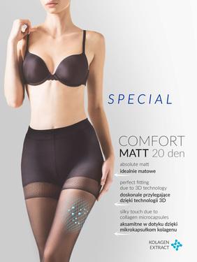 Rajstopy Comfort Matt 20 den